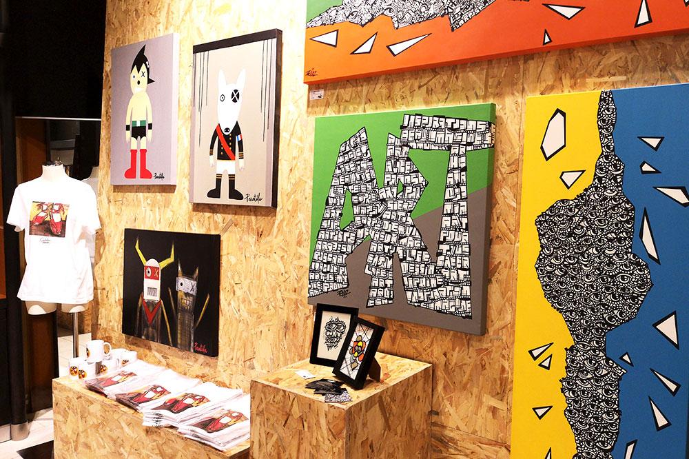Atelier Minuit Une - Photos des expositions